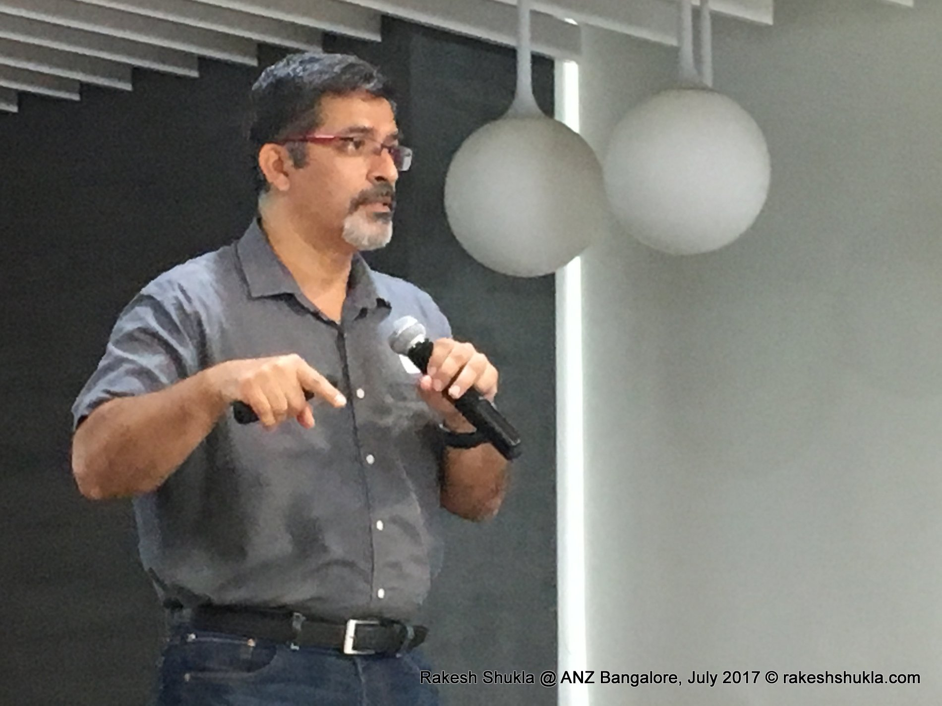 To change, first you need to find yourself: The ANZ Bangalore talk on July 4 I www.rakeshshukla.com