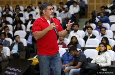 Rakesh Shukla at IIM Bangalore